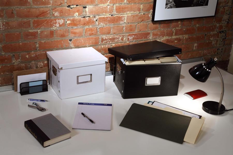 Amazon Com Snap N Store Letter Size File Box Black