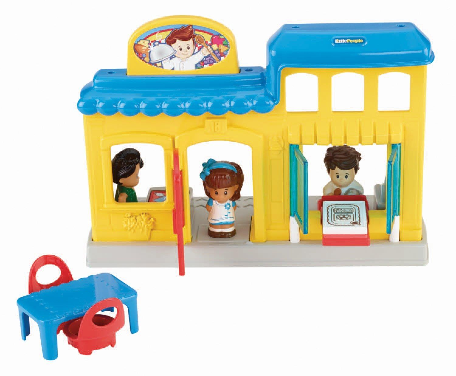 Toys For Restaurants : Amazon fisher price little people restaurant toys