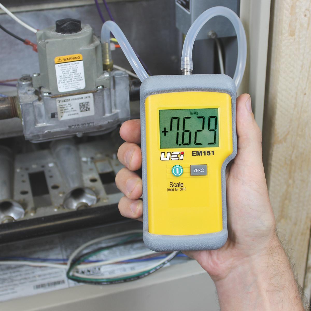 u gauge manometer instructions
