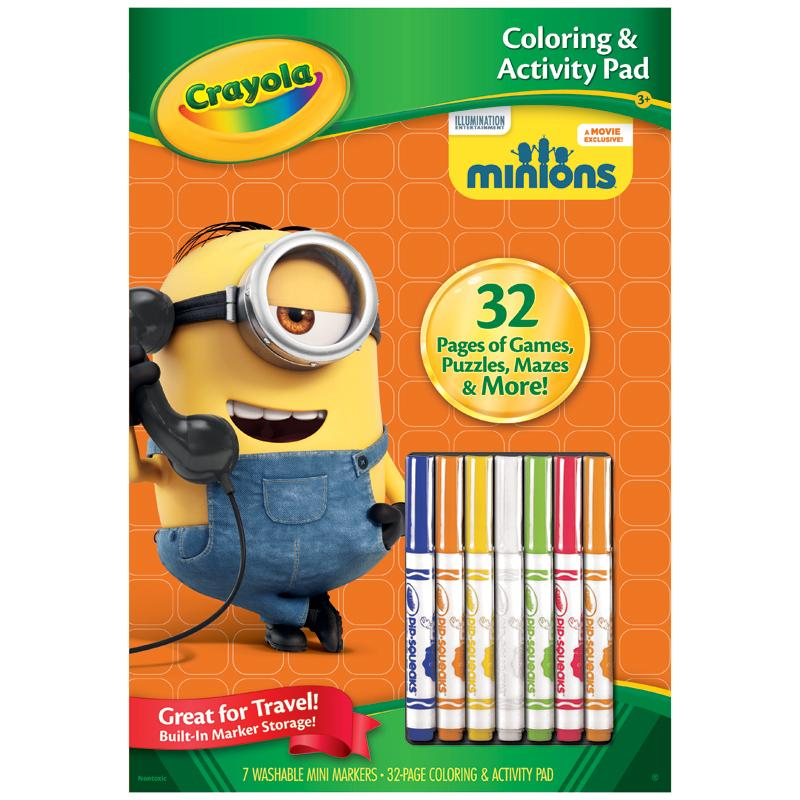 Crayola Coloring Book Markers - Worksheet & Coloring Pages
