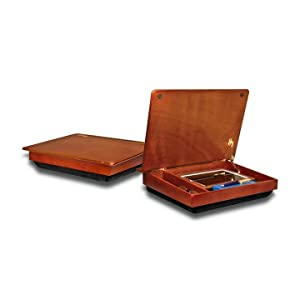 Lapdesk schoolhouse wood lapdesk with storage 45075 computers accessories - Wood lap desk with storage ...
