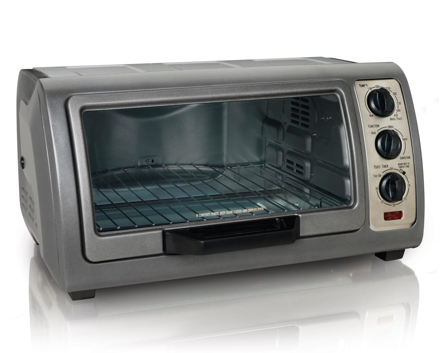Amazon Com Hamilton Beach Easy Reach Oven With Convection