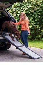 Pet Gear All-Weather Full Length Bi-Fold Pet Ramp