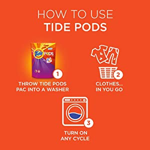 Mar 13,  · How to Use Tide Pods. Place the pod at the bottom of the drum of the washing machine before you put in any clothes, regardless of whether you use a front-loading machine or top-loading machine. You don't have to measure, so there are no drips or spills. Because the pods contain stain remover, there's no need to pre-treat clothes.