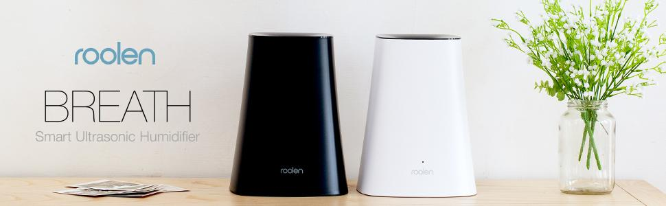 Cool mist humidifier roolen breath smart for Small room vaporizer