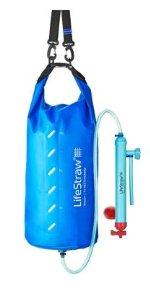 Life Straw Mission 5. Lightweight, packable. Base camp, easy to use for survival or emergency prep