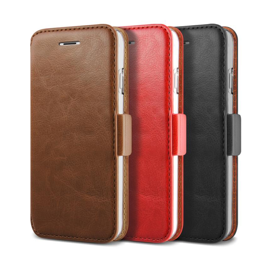 does accomplish verus dandy leather style iphone 6/6s wallet case brown can you