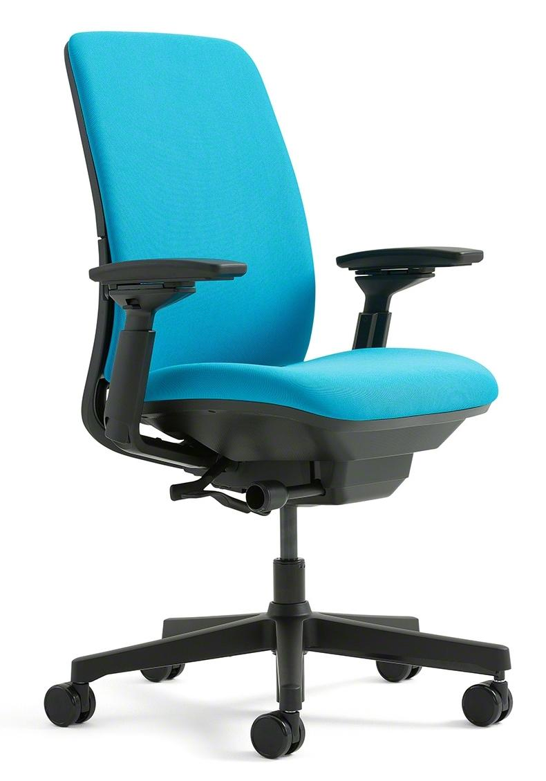 Steelcase amia chair in fabric