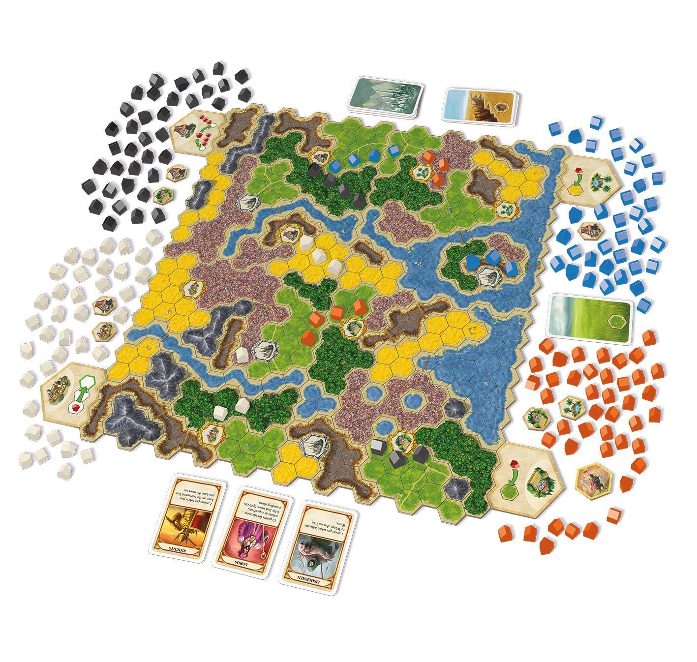 Amazon: Amazon.com: Queen Games Kingdom Builder: Toys & Games