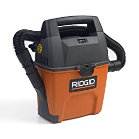 RIDGID VAC, SHOP VAC, SHOP VACUUM, WET DRY VAC, GARAGE VACUUM, CAR CLEANING