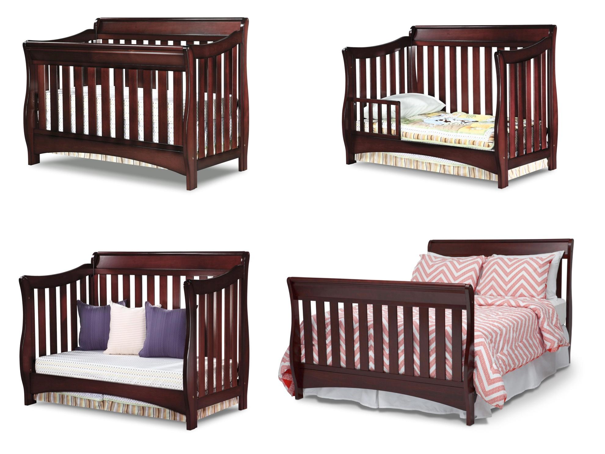 Amazon Com Delta Children Bentley S Series 4 In 1 Crib