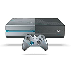 xbox one 1tb console limited edition halo 5 guardians bundle video games. Black Bedroom Furniture Sets. Home Design Ideas