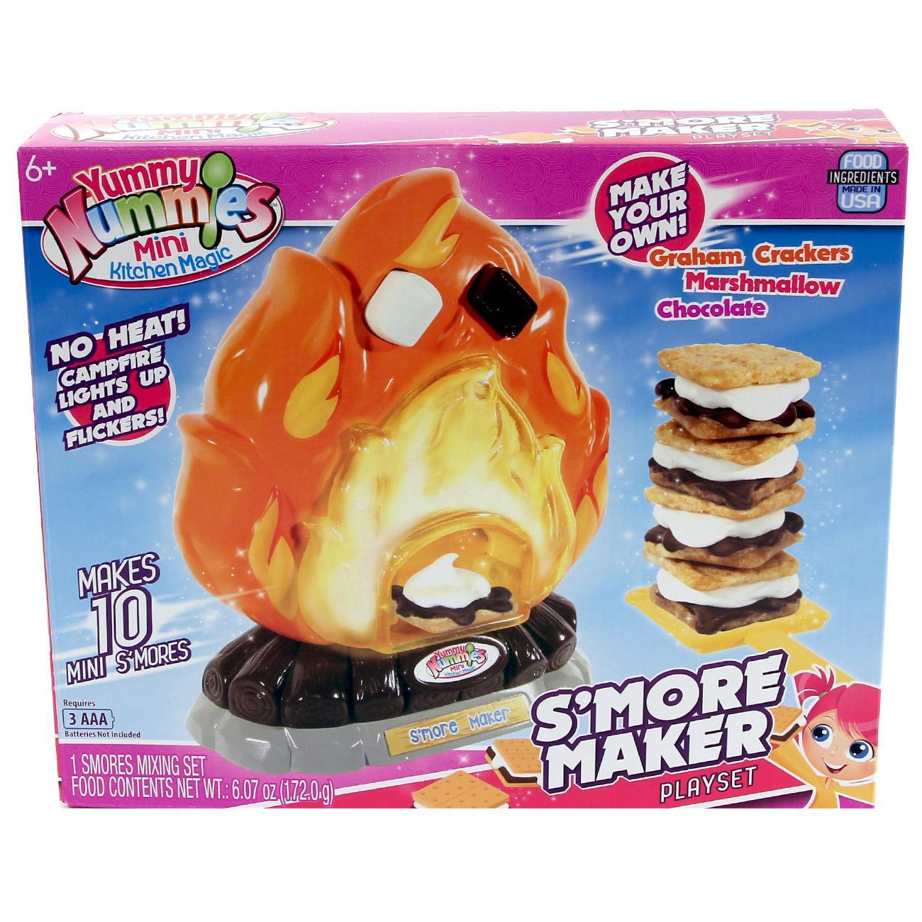 Amazon.com: Yummy Nummy Mini Kitchen Playset S'Mores Maker