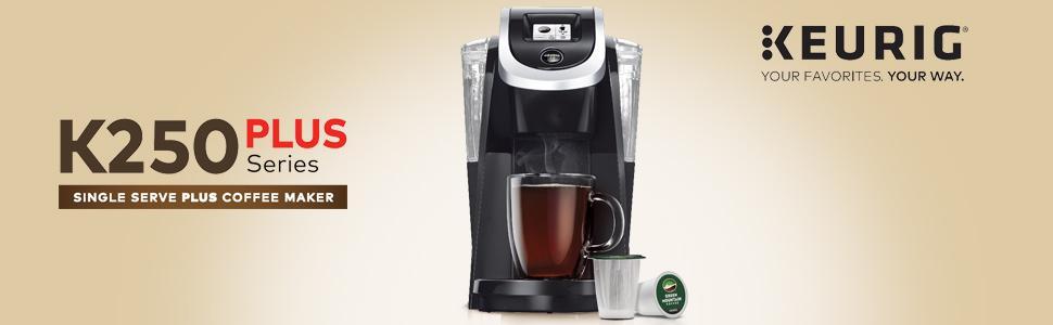 Keurig K250 Coffee Maker, Keurig coffee machine, coffeemaker, coffeemachine, single serve coffee