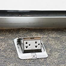 Floor;outlet;back;pain;hard;reach;access