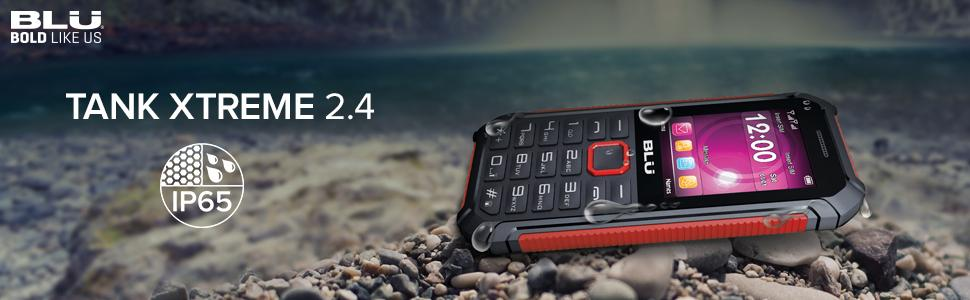 amazon com blu tank xtreme 2 4 water and shock resistant phone