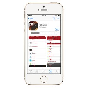 Polk App, iOS, Android, Music Streaming, Audio, Wireless, Wi-FI