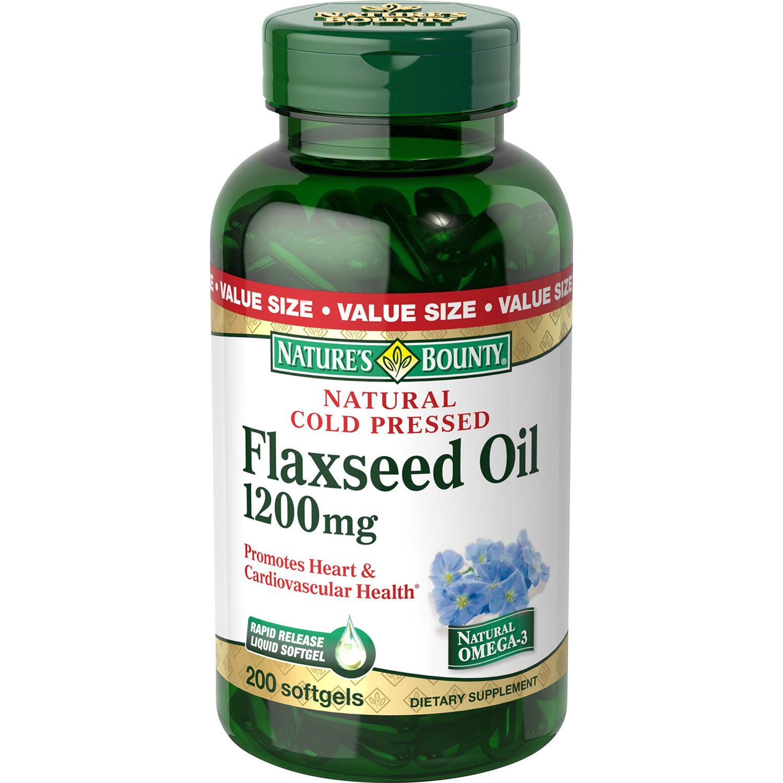 Nature S Bounty Organic Flaxseed Oil