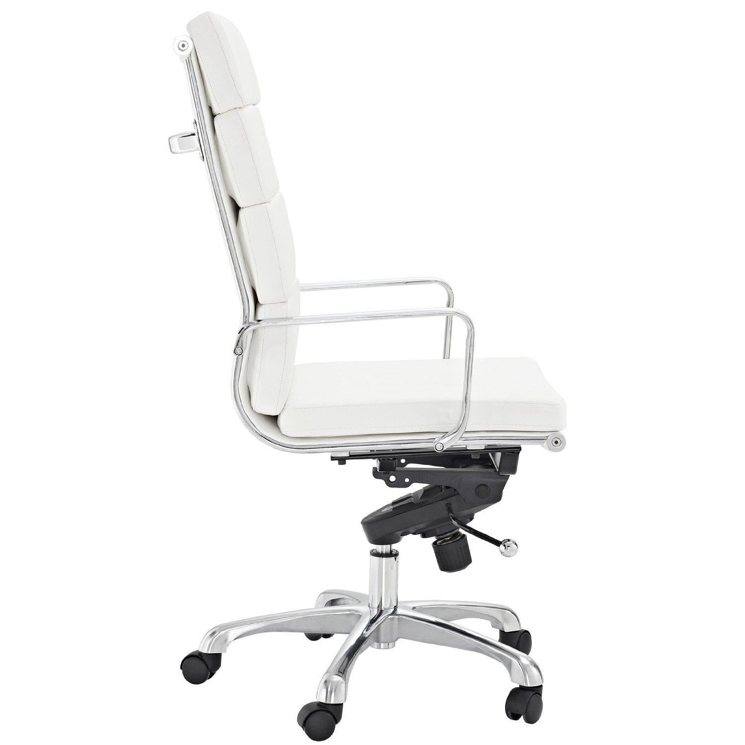 White Vinyl Office Chair. View Larger White Vinyl Office Chair I ...