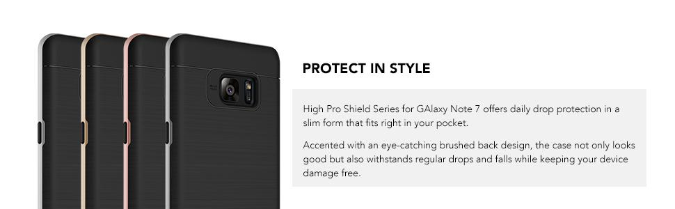 Galaxy Note 7 Case, VRS Design High Pro Shield Series