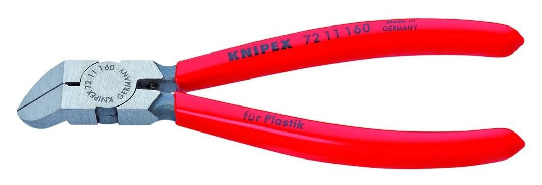 Knipex 72 11 160 45 Degree Angle Diagonal Flush Cutters