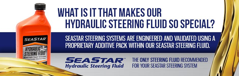 how to add hydraulic fluid to seastar steering