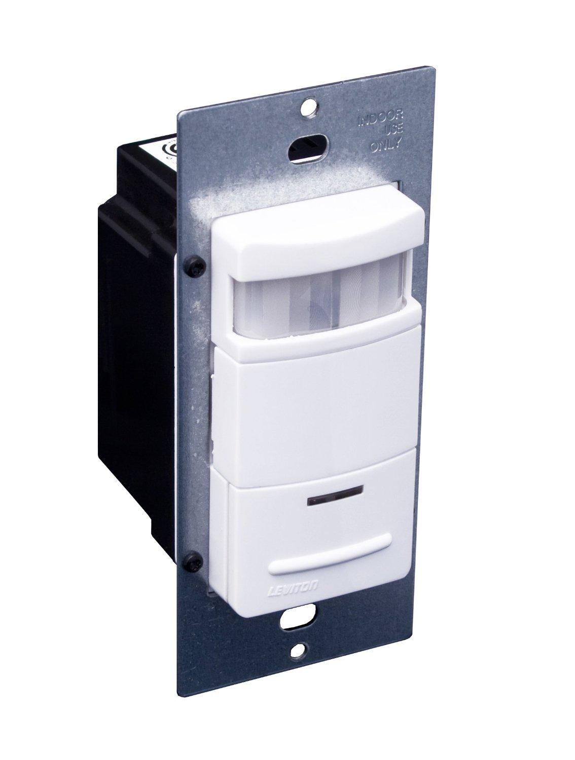 leviton ods10 idg decora passive infrared wall switch occupancy view larger
