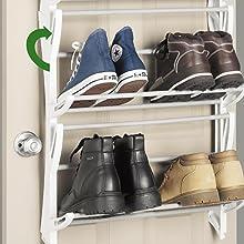 rack, shoes, garment, hanger, seville, amazonbasics