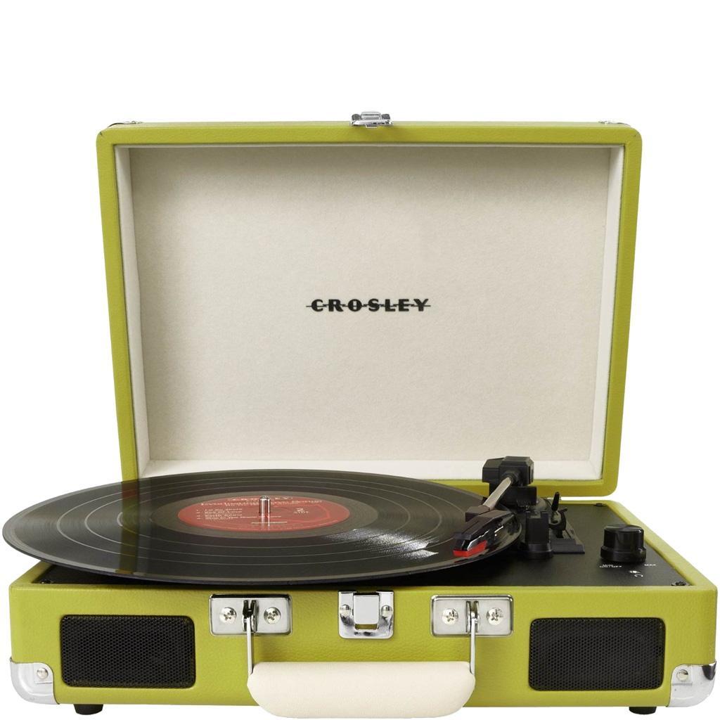 Crosley Crusier 3 Speed Portable Turntable Vinyl Record