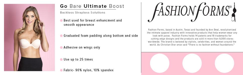 1baf763dbdd Fashion Forms Women s Go Bare Ultimate Boost at Amazon Women s ...