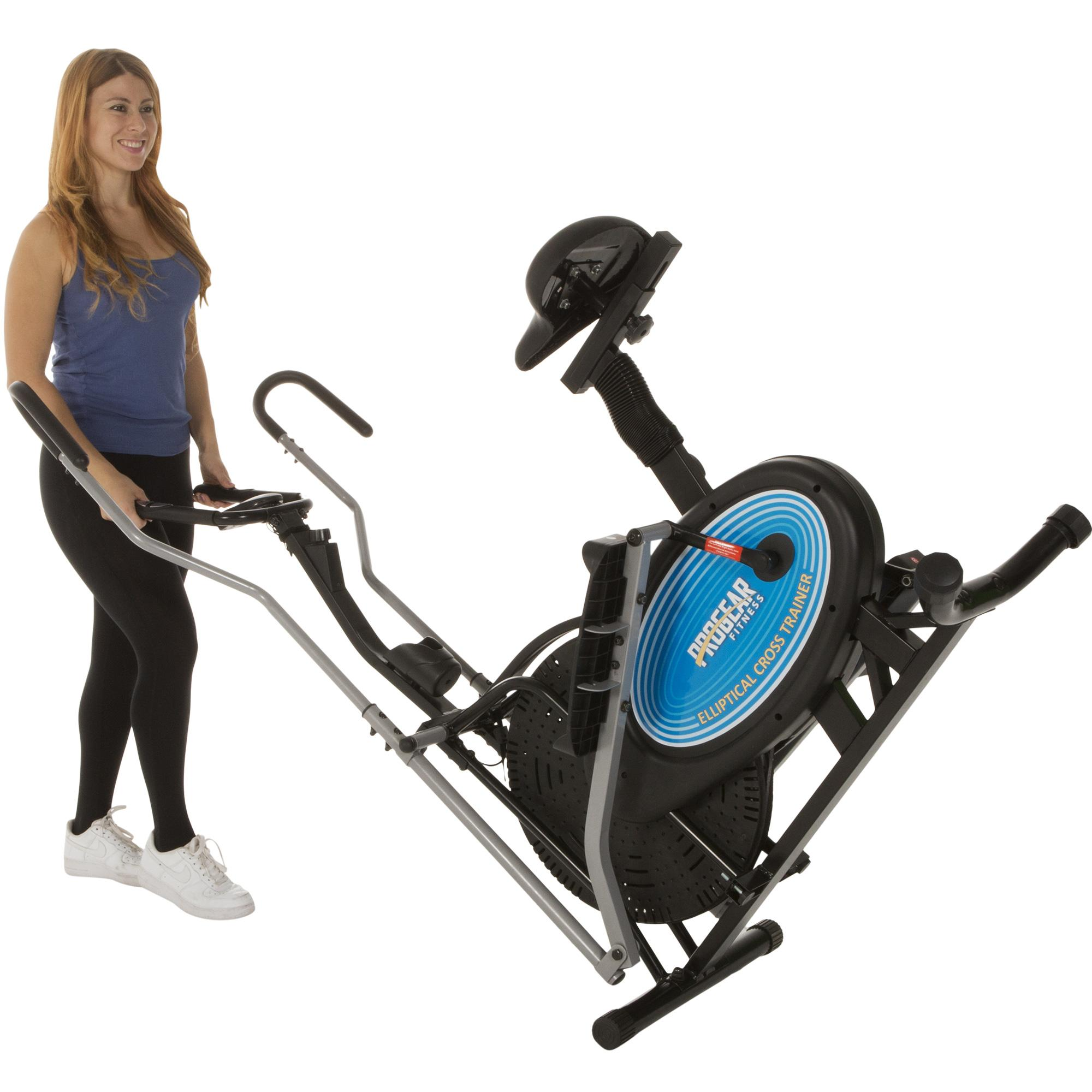 Elliptical Sit Down Bike: Amazon.com : ProGear 400LS 2 Dual Trainer Elliptical