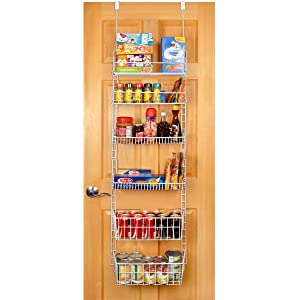 Captivating Pro Mart DAZZ Deluxe Over The Door Pantry Organizer, Large