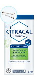 plus, magnesium, calcium, citrate, minerals