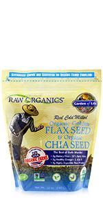 RAW Organics Super Omega 3 Organic Chia Seed