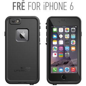 apple, iphone 6, waterproof, lifeproof, fre, water, proof