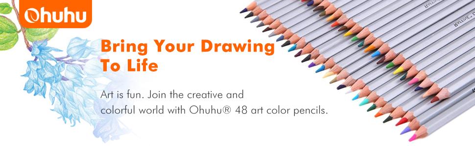 Permanent Sketch Book: Amazon.com : Ohuhu Dual Tips Art Sketch Twin Permanent