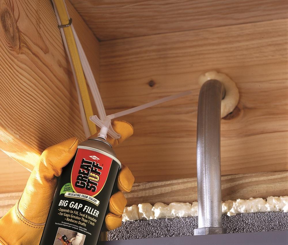 Great Stuff 157906 Insulating Foam Sealant 12 Oz Cream