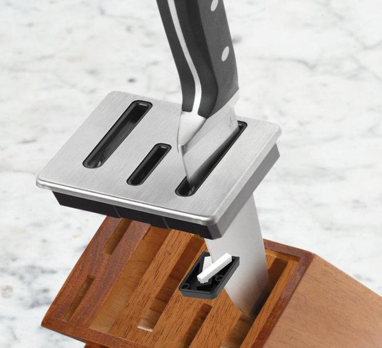 calphalon classic self sharpening cutlery knife block set 12 piece ebay. Black Bedroom Furniture Sets. Home Design Ideas
