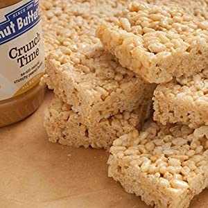crunch time peanut butter rice crispy treats