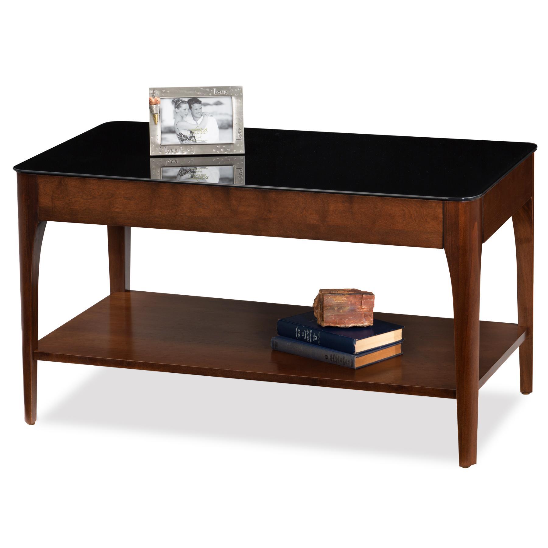 Amazon Com Leick Glass Condo Apartment Coffee Table Amp Two