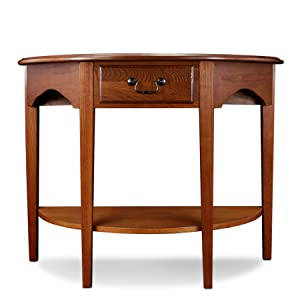 console table, hall console, demilune console, hall table