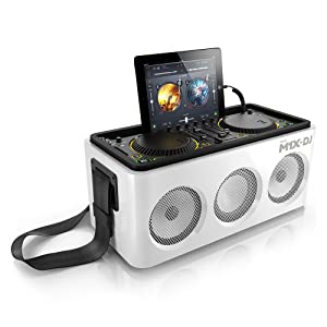 Philips DS8900 M1X-DJ Sound System Docking Station and Bluetooth - Hook up with an audio out