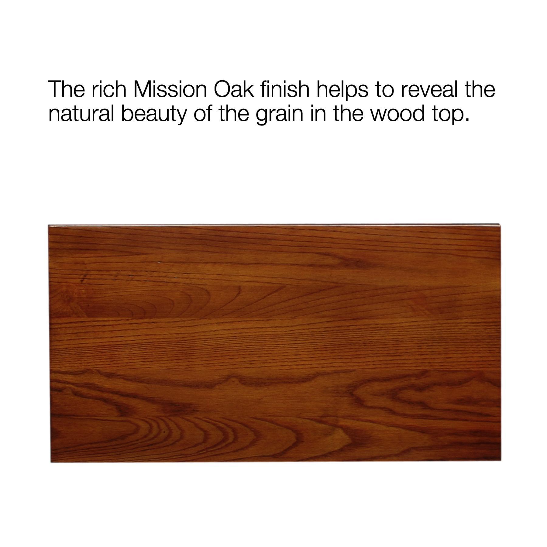 Amazon Leick Furniture Mission Side Table Medium Oak
