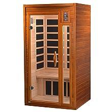 Amazon.com: DYNAMIC SAUNAS AMZ-DYN-6106-01 Barcelona - Sauna ...