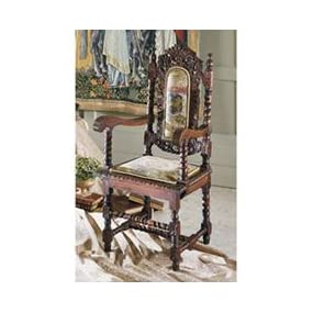 hand carved chairs, antique replica chairs