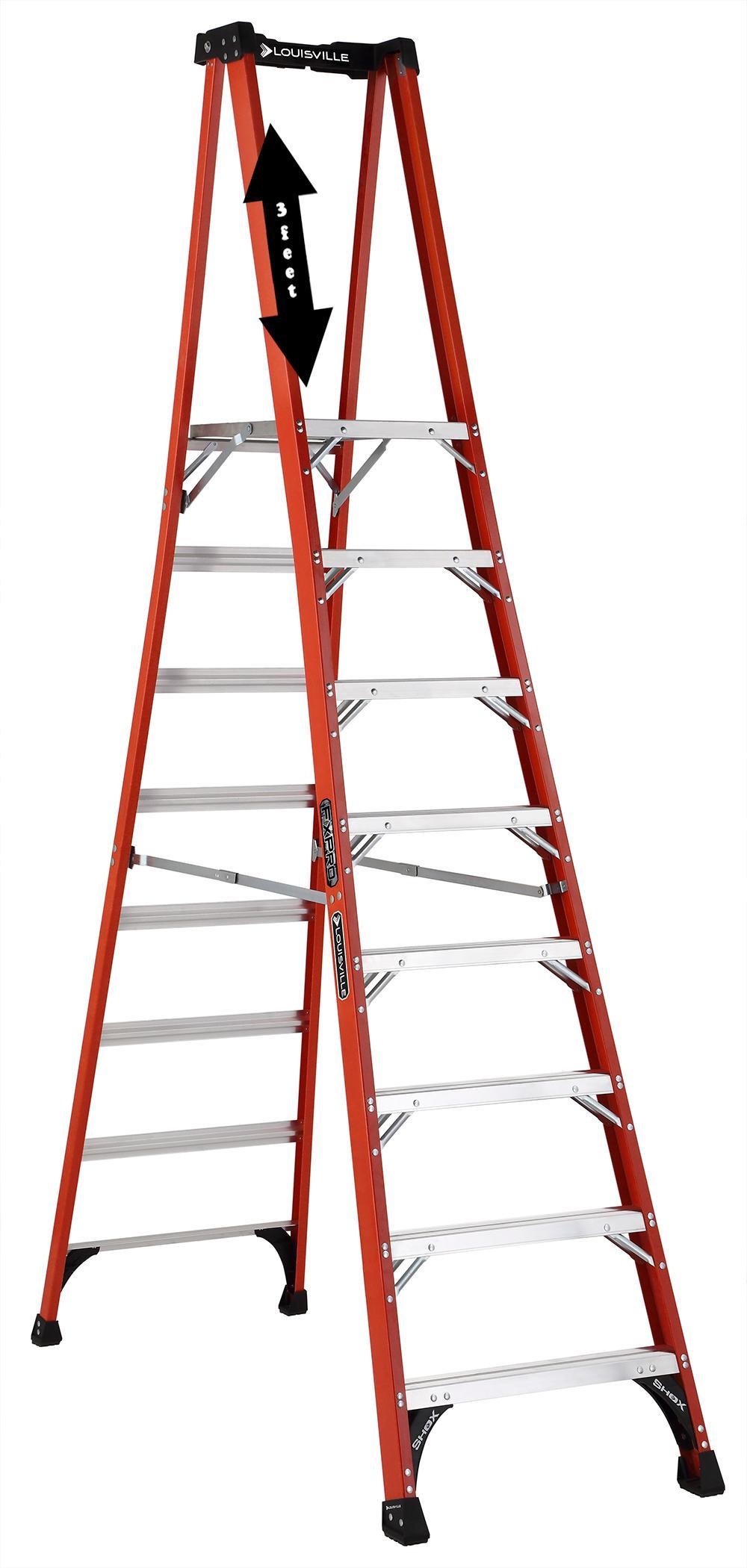 Amazon Com Louisville Ladder Fxp1808hd Type Iaa