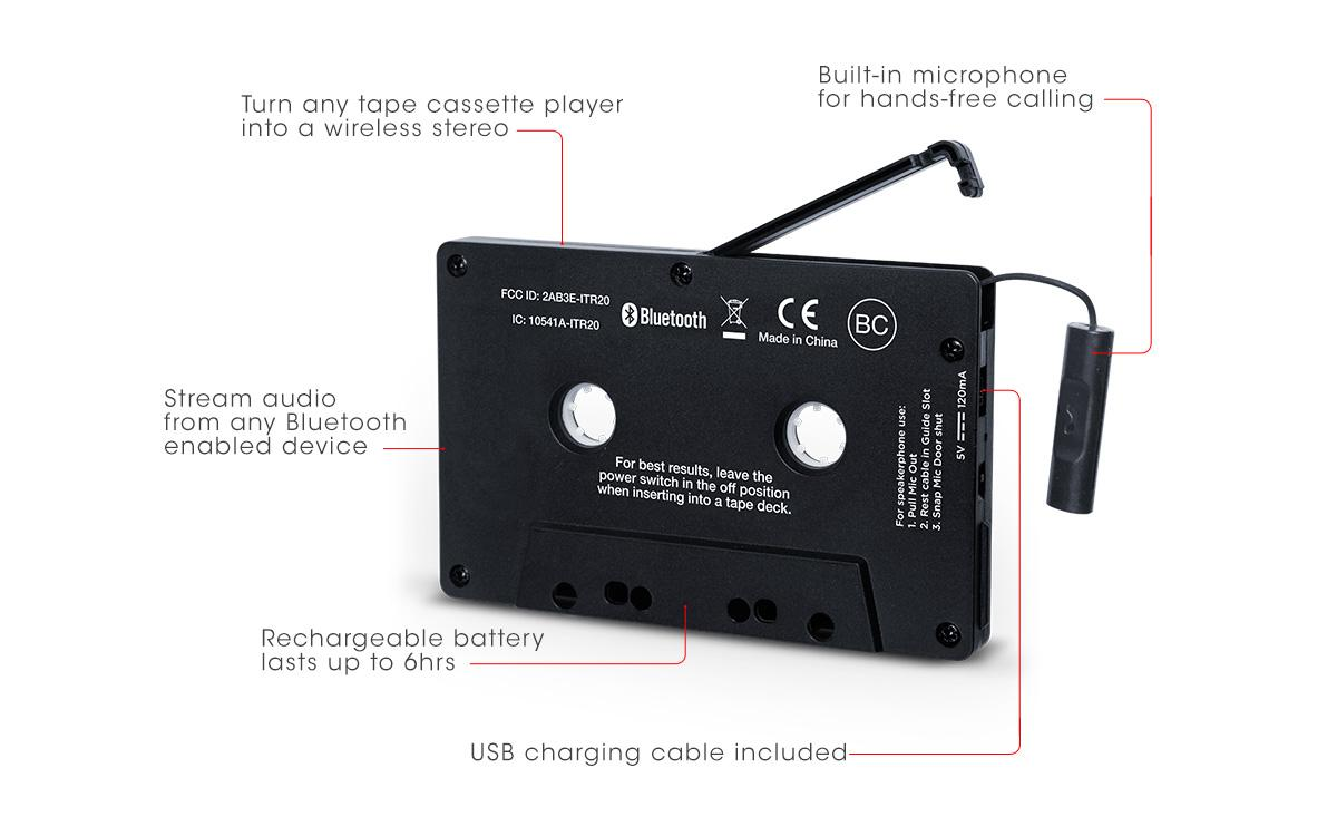 bluetooth cassette tape adapter review
