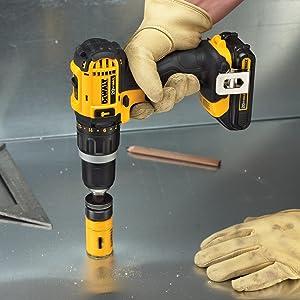 Dewalt Dcd785c2 20v Max Lithium Ion Compact 1 5 Ah Hammer
