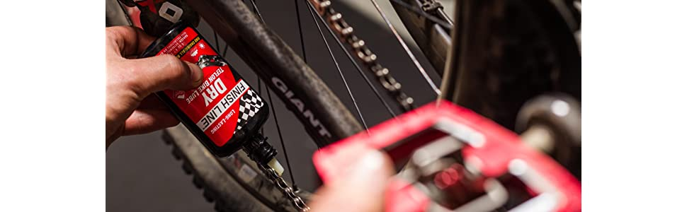 Dry Teflon; Finish Line; Finish Line Dry; Dry Lube; Chain lube; bike lube; bicycle lube