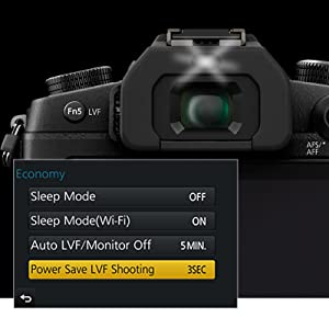 battery saving live viewfinder